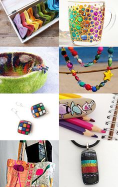<*>Saturday Brights Gift Guide<*> by Jennifer Hanson on Etsy--Pinned with TreasuryPin.com