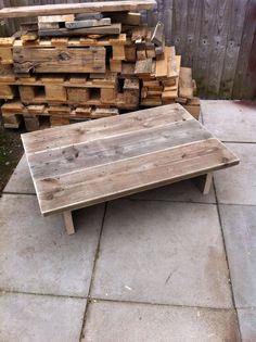 Garden Furniture Made From Scaffolding Planks 4 tier garden planter made from scaffold planks - ecorustic