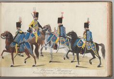Hussaren Regiment - 1784