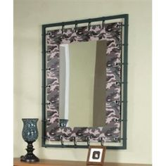 camo mirror