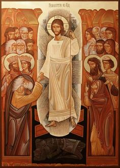 The resurrection of the Christ