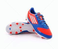 Botas de fútbol Adidas F30 TRX FG JUNIOR | Infrared / Bright Blue 58,95€ (V21354) #botas #futbol #adidas #soccer #boots #football #footballprice