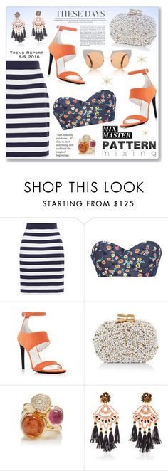 """""""Pattern Mix Master"""" by dressedbyrose ❤ liked on Polyvore featuring MDS Stripes, Harvey Faircloth, Proenza Schouler, Sarah's Bag, Tamara Comolli, Mercedes Salazar, Marni and patternmixing"""