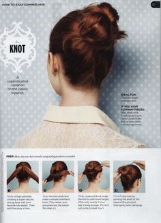 knot bun