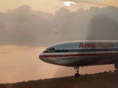 American Airlines DC-10 Chicago O'Hare Airport