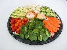 Raw Vegetables Platter