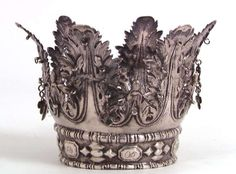 Antique Norwegian bridal crown brudekrone