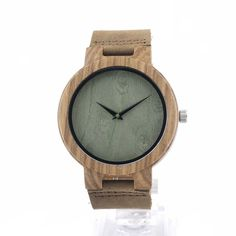 7e254e42a BOBO BIRD C18 Mens Zebra Wood Wristwatch Japan 2035 Movement Quartz Watch  with Brown Leather Band Relogio Masculino Mujer 2016