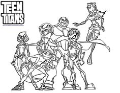teen titans pictures to color my alternate blog teen titans go coloring pages