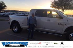 Happy Anniversary to Pete on your #Ram #3500 from Jake Thursby at Waxahachie Dodge Chrysler Jeep!  https://deliverymaxx.com/DealerReviews.aspx?DealerCode=F068  #Anniversary #WaxahachieDodgeChryslerJeep