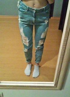 Kup mój przedmiot na #vintedpl http://www.vinted.pl/damska-odziez/dzinsy/12190422-boyfiend-jeans-bershka