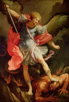 Archangel Michael by Guido Reni