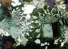Granophyric texture