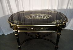 Table bureau napoleon III style louis xvi / Desk table napoleon III marquetery