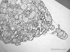 Get Wacky Creative With Adult Coloring Book Doodle Fusion By Lei Melendres