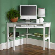 White Corner Computer Desks For Home