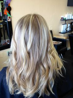 Ash blonde highlights. This is the color i want! my blonde highlights are looking way too warm