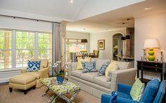 Designer Builders - Aiken SC - Nandina - blue and yellow