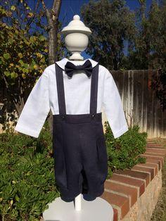 Sunday Best, Linen Outfit - babysuzannajohanna/etsy