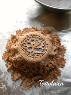 Todolwen: Bring Out Your Doilies - A New Birds Nest Tutorial