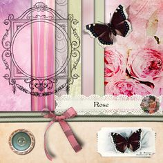 Nisan 11 and Rose Free Digital Scrapbooking, I Card, Rose, Creative, Pink, Roses