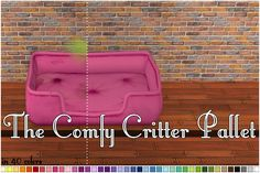 The Comfy Critter Pallet Recolors Sims 4 Pets, Sims 2, Buy Pets, Maxis, Pallet, Comfy, My Favorite Things, Digital, Artist