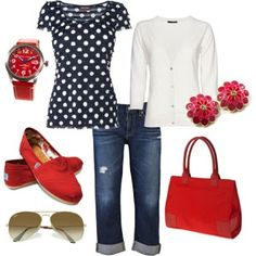 Red Outfit Set | Fashion World