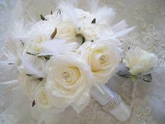 Kuvahaun tulos haulle winter wedding bouquets rose