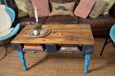 DIY:  Wood Pallet Table Tutorial.