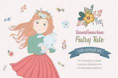 Scandinavian Fairy Tale Illustration - Illustrations - 1