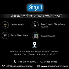 Sansui Electronics PVT.LTD- www.sansuiscales.com  #electronicweighingscales  #weighbridges #taximeter  #jewelleryscales Jewelry Scale, Weighing Scale, Electronics, Scale, Virgos, Libra, Balance Sheet, Consumer Electronics, Weight Scale