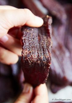 Learn how to make beef jerky in the oven - a simple guide to make traditional, chewy jerky that is better than any store-bought jerky and safe to eat. Bend test.