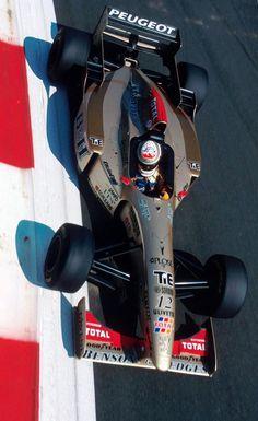 """Great overhead shot of in his Jordan Italian GP Peugeot, Nascar, F1 Wallpaper Hd, Stock Car, Italian Grand Prix, Formula 1 Car, F1 Racing, Drag Racing, Indy Cars"