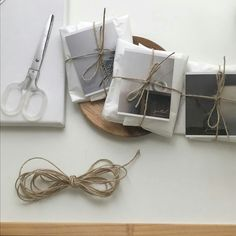 all packages he gets ready to send to chao Salt Box, Brown Aesthetic, Packaging Design, Packaging Ideas, Diy And Crafts, Gift Wrapping, Paper Wrapping, Stationery, Wraps