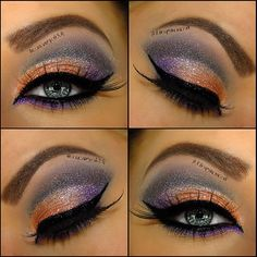Golden Topaz & Purple look ♥♥♥  @theamazingworldofj