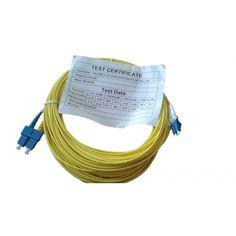 OS2 20m LC-SC DUPLEX P/CABLE 9/125 AMARILLO 200-096 - Radio Alfa