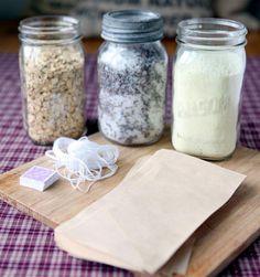 Lavender Oatmeal Tub Tea Recipe