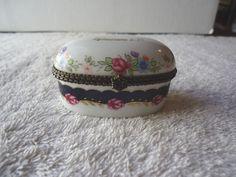 "Vintage Imperial Porcelain "" Biblical Trinket Box "" BEAUTIFUL COLLECTIBLE ITEM "" #vintage #collectibles #ceramics #home"