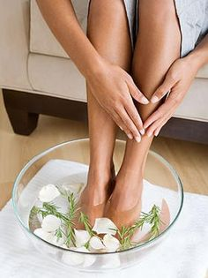 Home Spa Treatment for Dry Cracked Feet