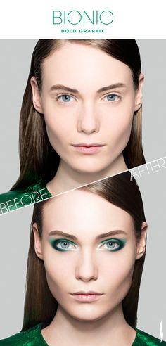 Before & After: SEPHORA+PANTONE UNIVERSE Bold Graphic #Sephora #SephoraPantone @Lola McGinnis COLOR