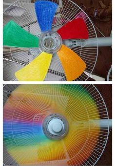 LOL if I did this with my classroom fan my students would never pay attention.