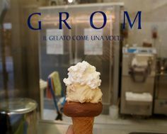 Grom Gelato -- supposed to be some of THE best! (Florence)