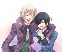 Black Butler (Kuroshitsuji) - Ciel Phantomhive x Alois Trancy - If They were Friends.. by LonelyKnight