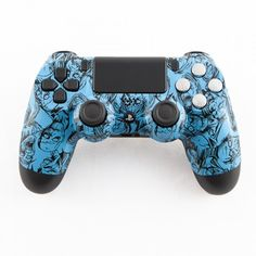 Light Blue Zombie PS4 Controller