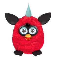 Furby Plush, Red/Black by Furby. $75.39. Feed Furby with your finger. Furby responds to your voice and to music. Includes 1 Furby and instructions. Application is optional and works with iPad; iPod touch and iPhone with iOS 4.2 or later. Pet Furby's head; tickle its tummy or pull its tail and see what happens. From the Manufacturer                Time to dust off your Furbish dictionary because Furby is back and ready to take the world by storm. Feed it, speak to it, tickle i...