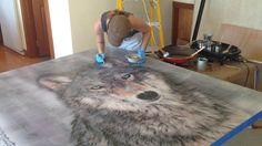 Layer By Layer: An Encaustic Commission Journey on Vimeo