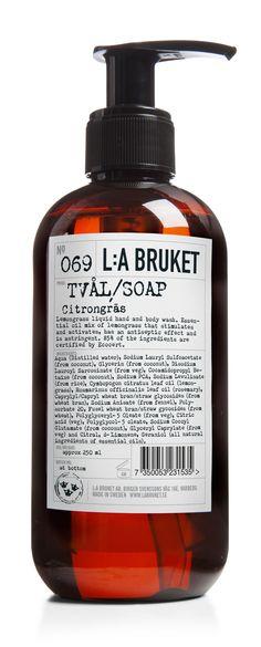 L:A Bruket - 069 Citrongräs 250ml