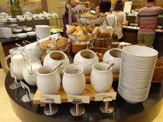 Breakfast @ Restaurace Brasserie Délice Prague, Tableware, Kitchen, Brewery, Dinnerware, Cuisine, Dishes, Kitchens, Stove