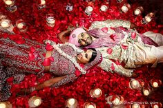 After wedding Shot in the Mandap