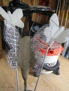 LoriBees Garden: How To Make A Concrete Butterfly